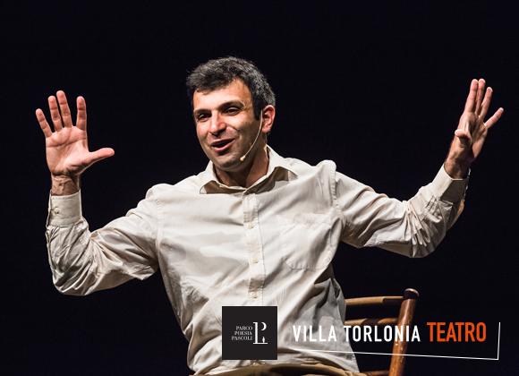 Luigi D'Elia a Villa Torlonia Teatro