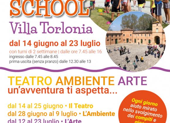 Happy Summer School a Villa Torlonia
